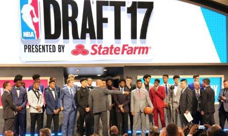 2017年NBA选秀抽签完整名单